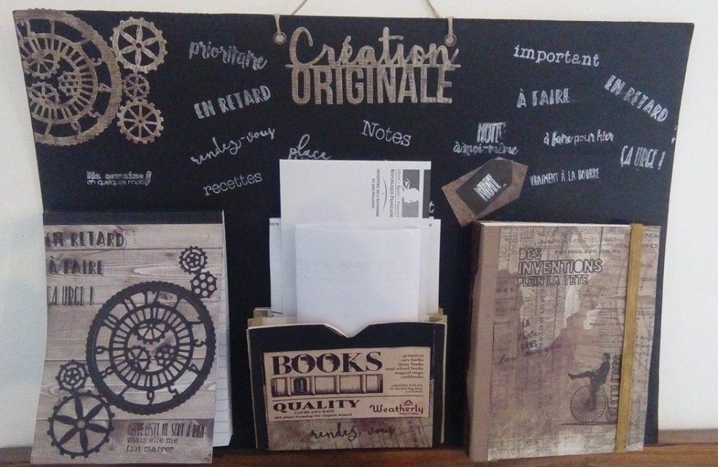 Voici quelques réalisations de clientes lors de mon dernier atelier «organisateur» 95 % SP